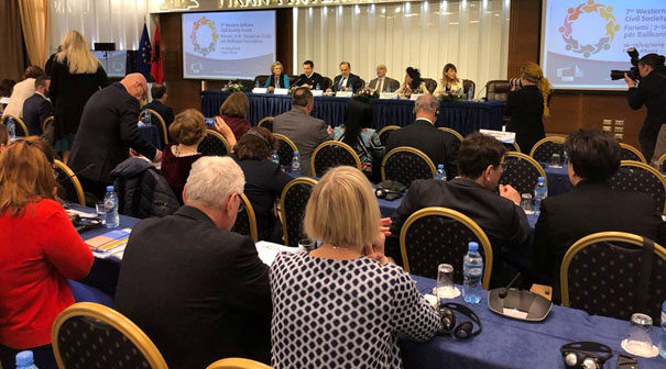 The Western Balkans Civil Society Forum demands a renewed impetus for the EU's enlargement policy