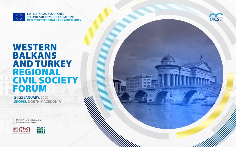 Western Balkans and Turkey Regional Civil Society Forum