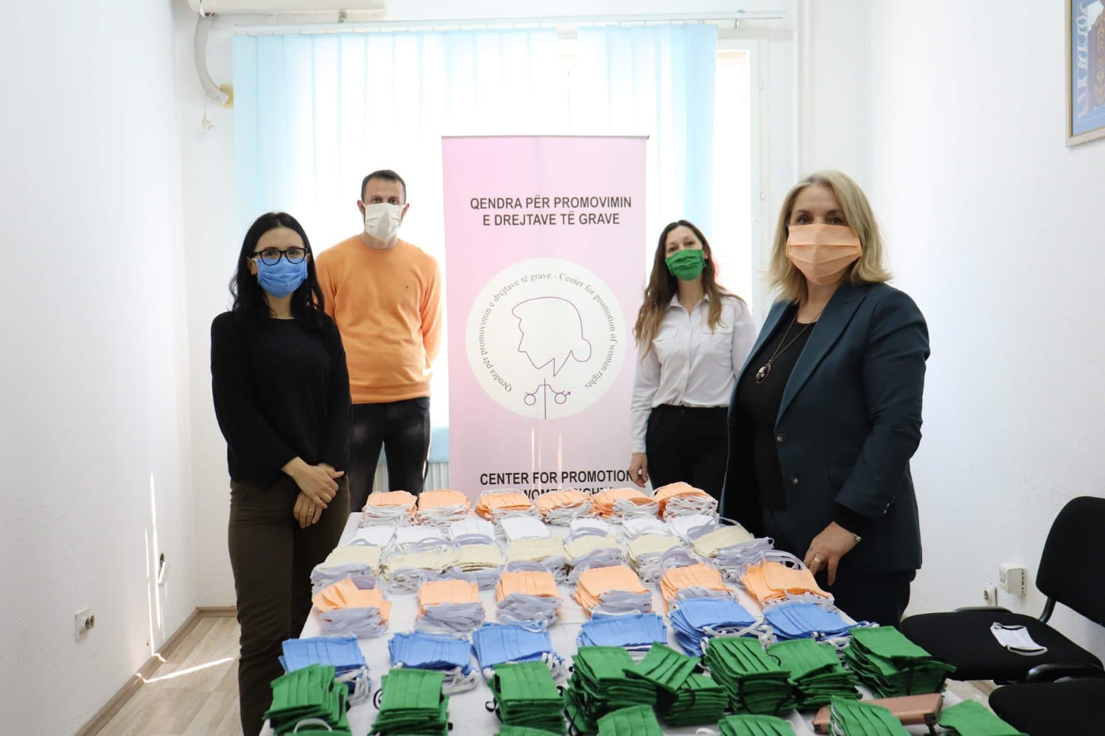 """""""When the Pain of War Sexual Survivors Becomes a Force to Combat COVID-19"""", a story of inspiration of Women Survivors, in Drenas, Kosovo"""