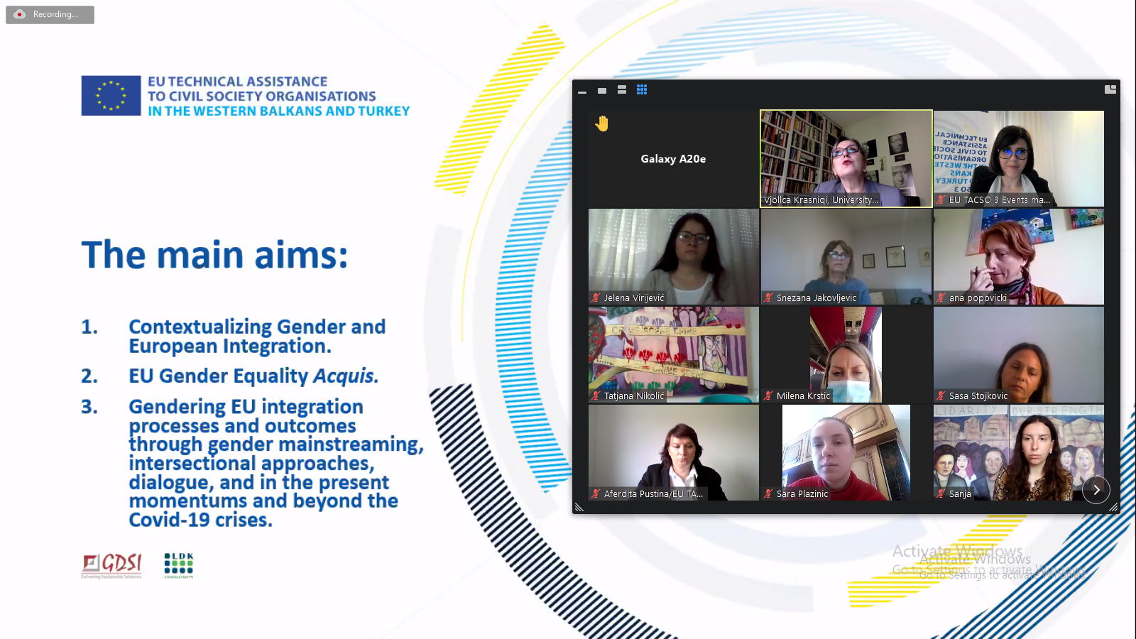 Breakthroughs, but Much to be Done to Ensure Institutional and Legal Structure on Gender Equality – Experts from Kosovo* and Serbia discuss Gender and European Integrations