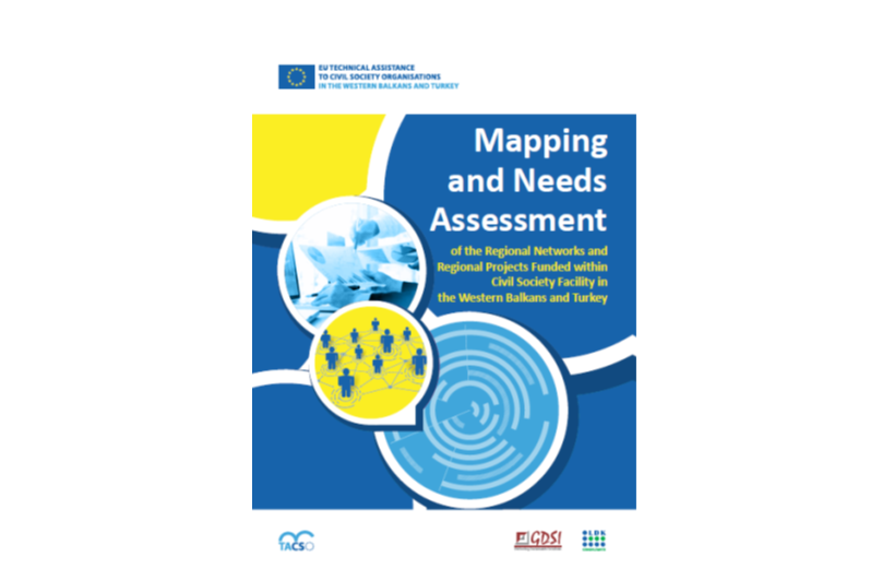 Live and Kicking: Mapping and Needs Assessment of the Regional Networks and Regional Projects Funded within Civil Society Facility in the Western Balkans and Turkey (WBT)